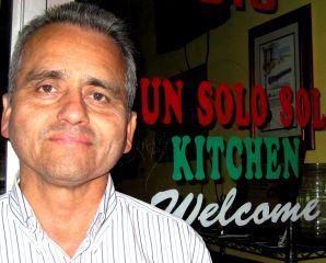 Carlos Perez of Un Solo Sol Kitchen