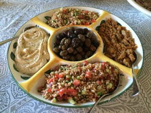 Getty Villa-inspired Mezes