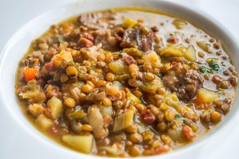 Aunt Fran's Lentil Soup