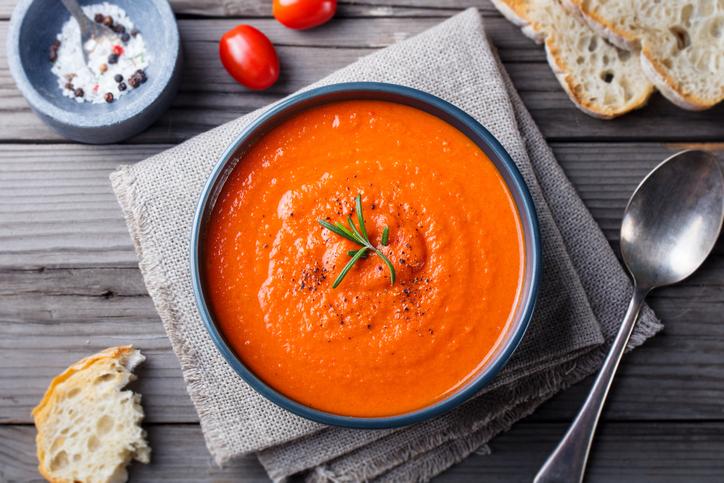 orange autumn soup