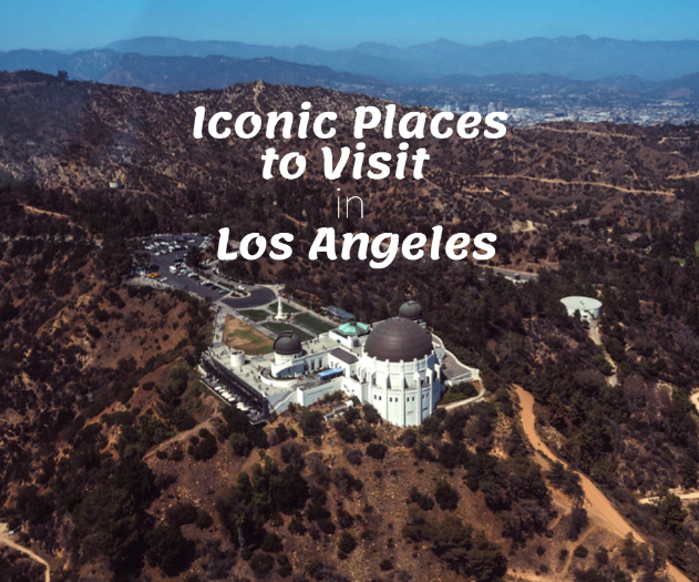 iconic places los angeles