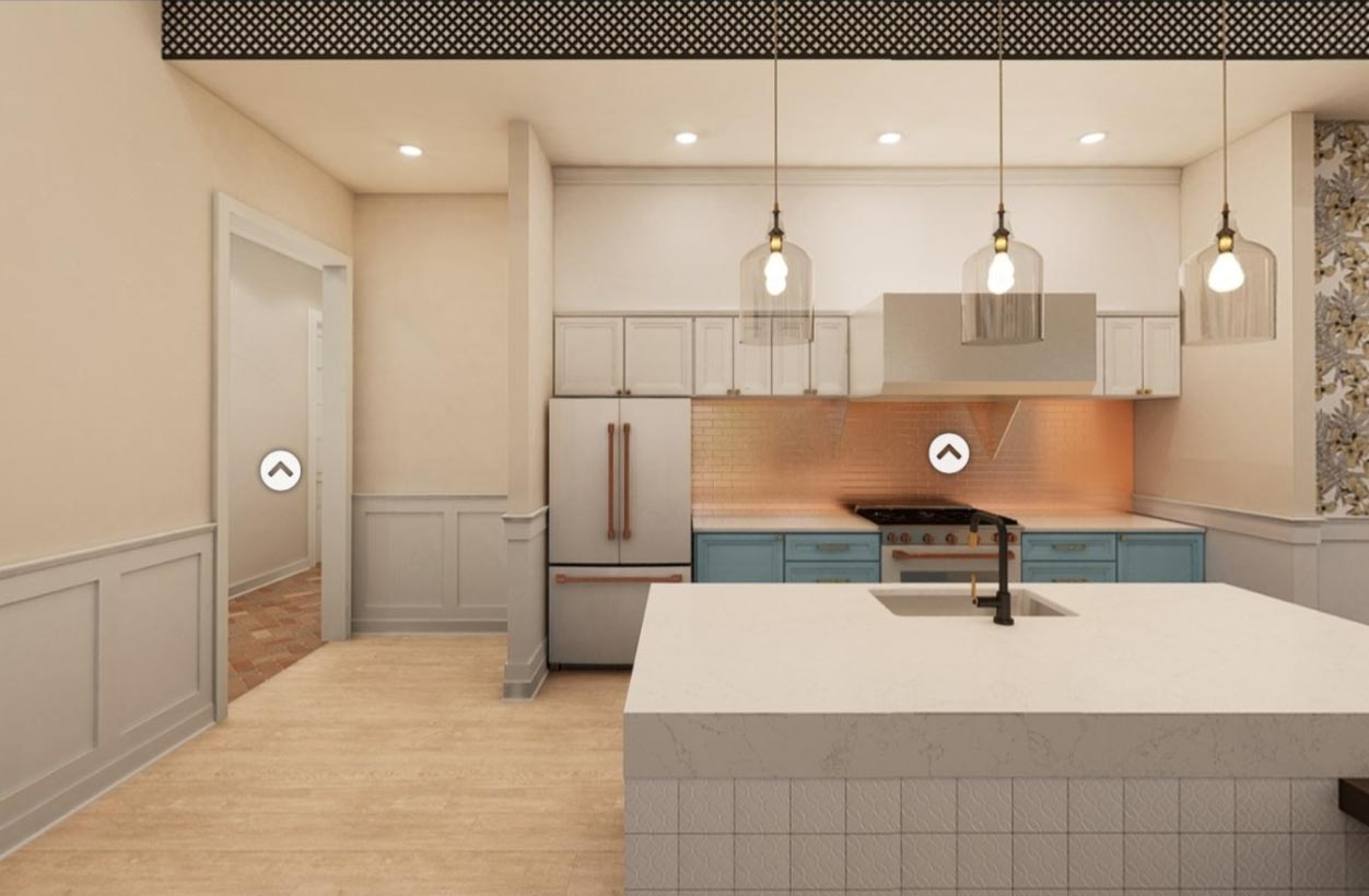 A kitchen design in Broadstone Ayrsley, iteration 3