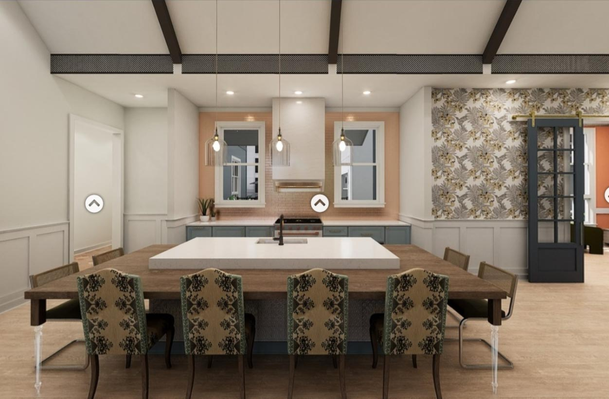 A kitchen design in Broadstone Ayrsley, iteration 7