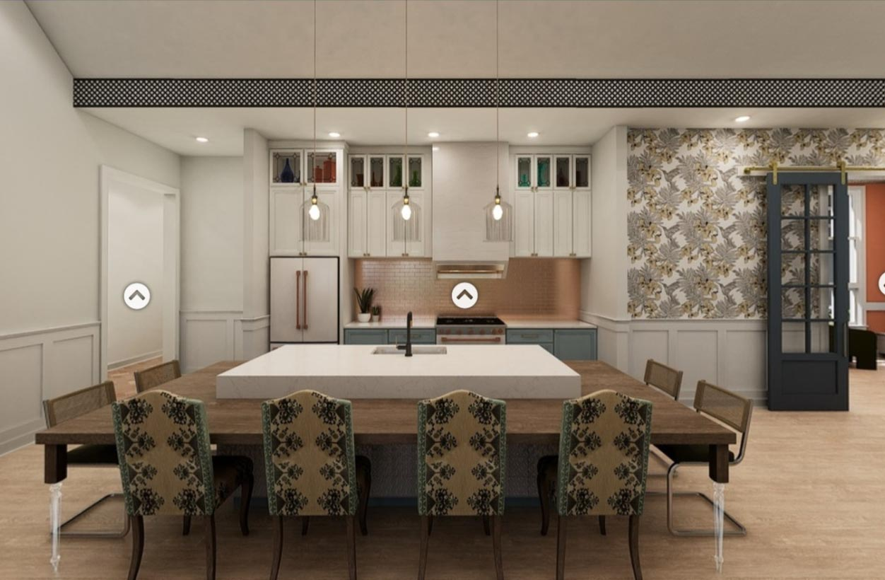 A kitchen design in Broadstone Ayrsley, iteration 6