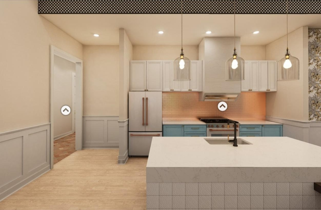 A kitchen design in Broadstone Ayrsley, iteration 4