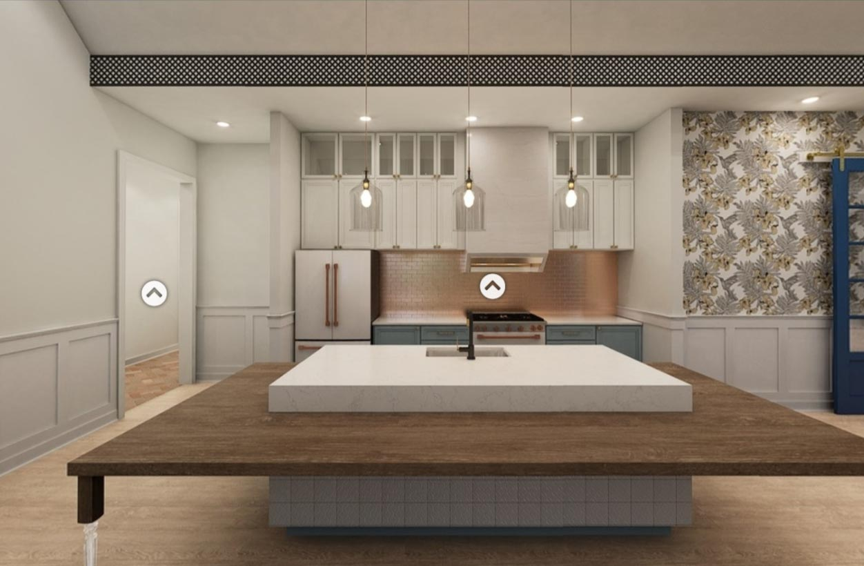 A kitchen design in Broadstone Ayrsley, iteration 5