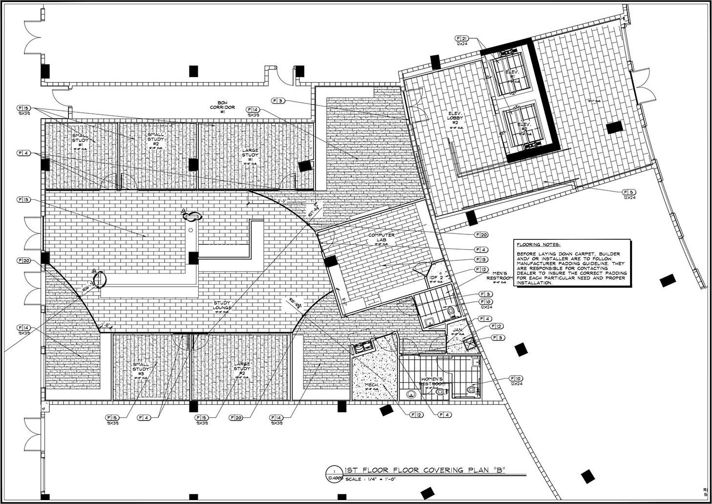 ID flooring plan