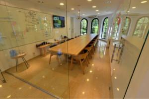 Sala kreatywna szklana