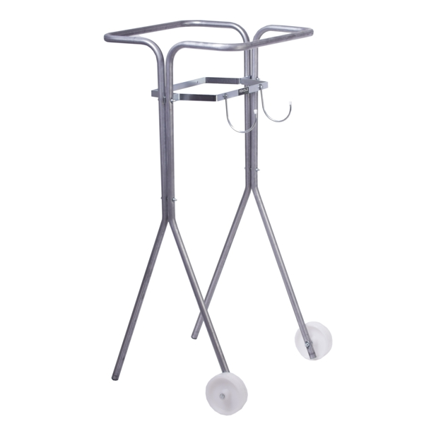 M5 - SV5 This sack trolley model is designed especially to collect plastic wrap which is used in the packing industry.