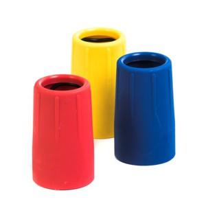 Reflex hylsor för färgkodning av skrapor