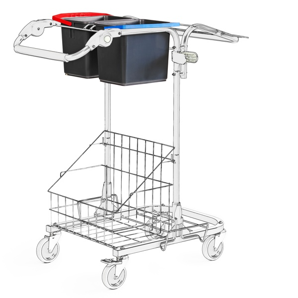 Rekola Motion M1.1 Cleaning trolley