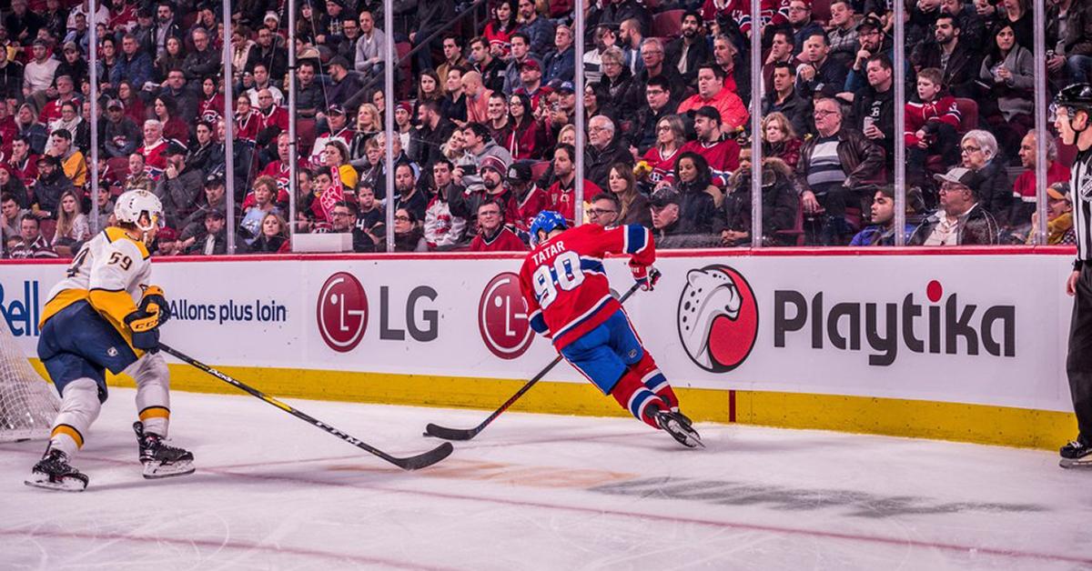 Playtika Corporate Sponsorship Montreal Canadiens