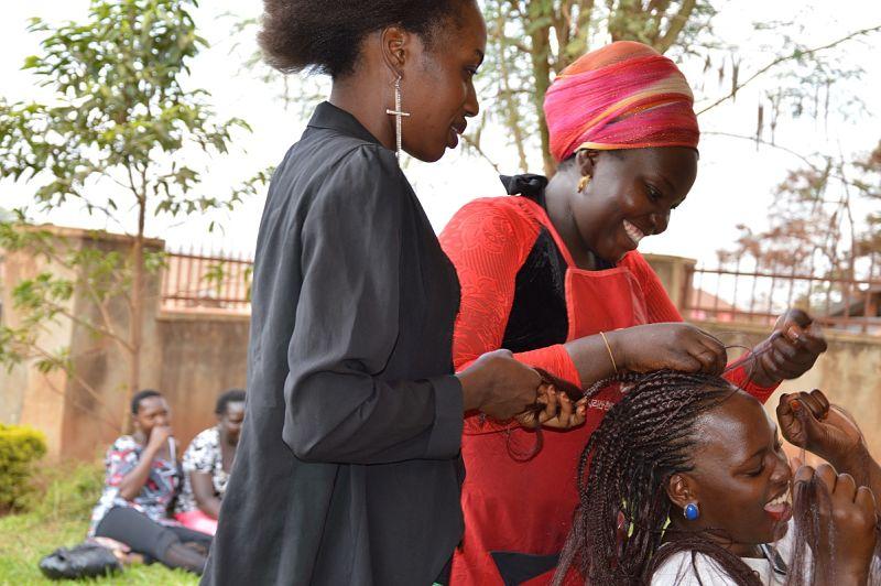 Hairdressing at BBVI