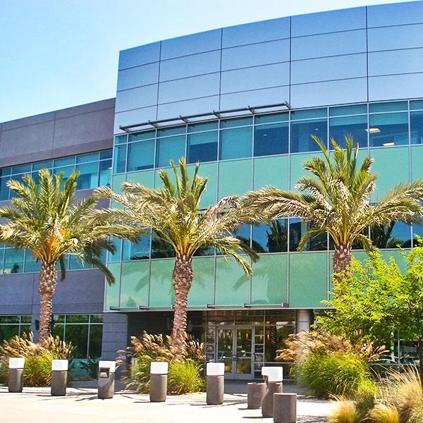 Broadcom building exterior in Rancho Bernardo