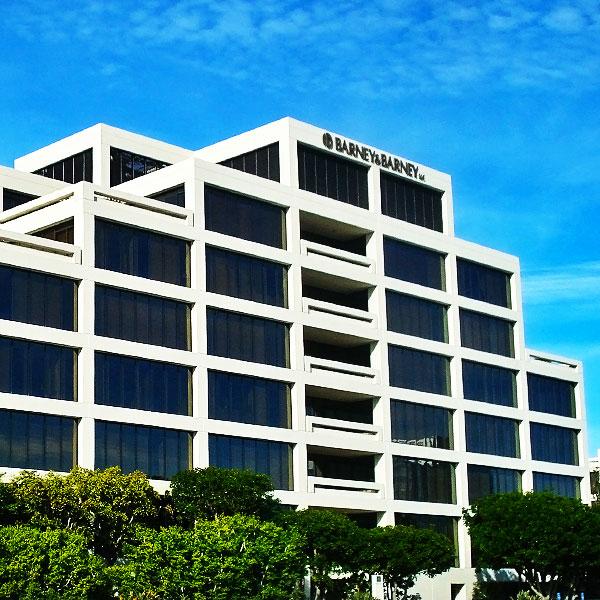 Gateway building exterior in La Jolla