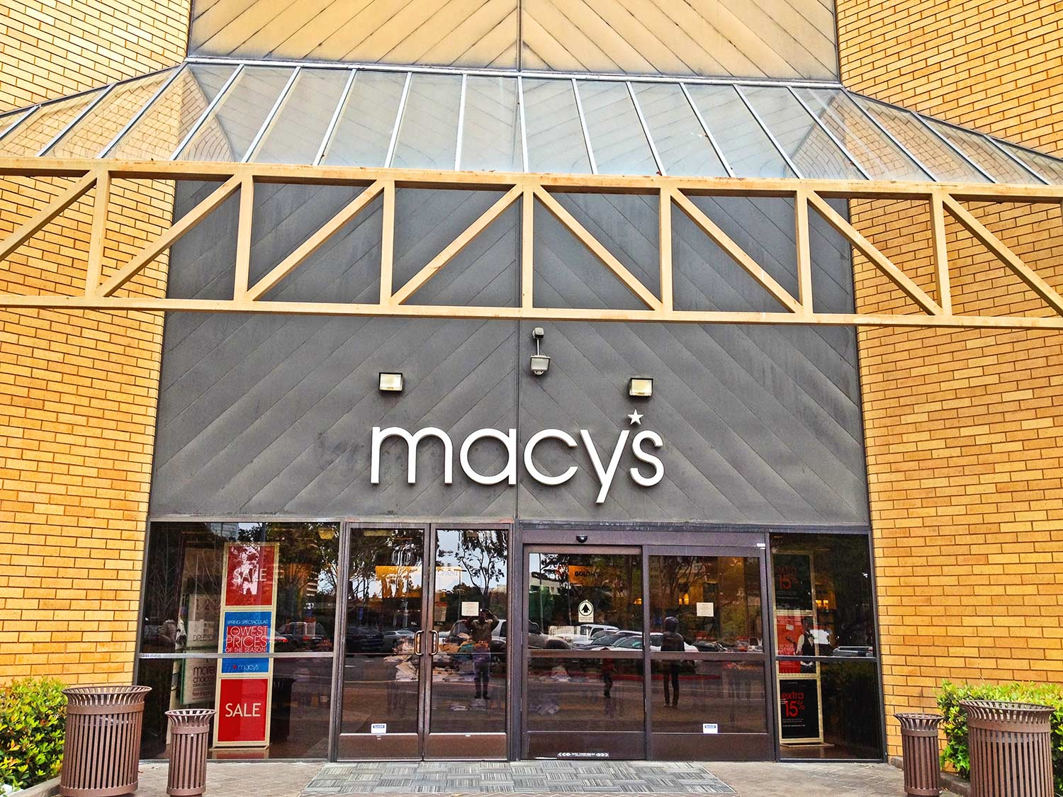 Macy's before construction by Olson Construction Company