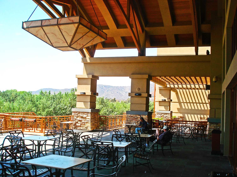 Patio exterior of Pala Casino by Olson Construction Company