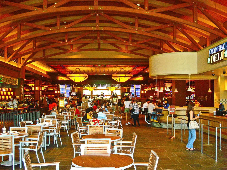 Food court of Pala Casino by Olson Construction Company