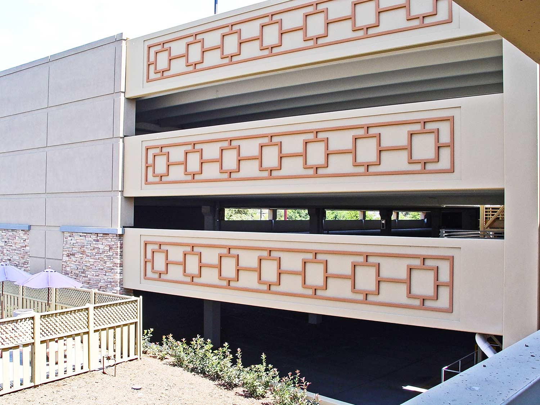 Parking garage of Pala Casino by Olson Construction Company