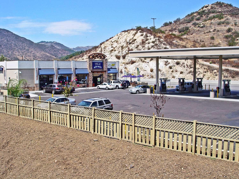 Gas station at Pala Casino by Olson Construction Company