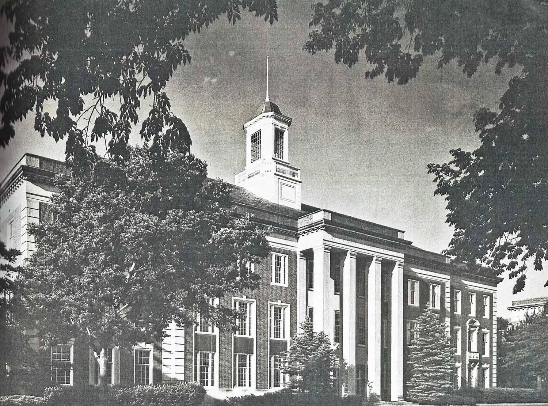 Legacy photo of Love Memorial Library at the University of Nebraska in Lincoln