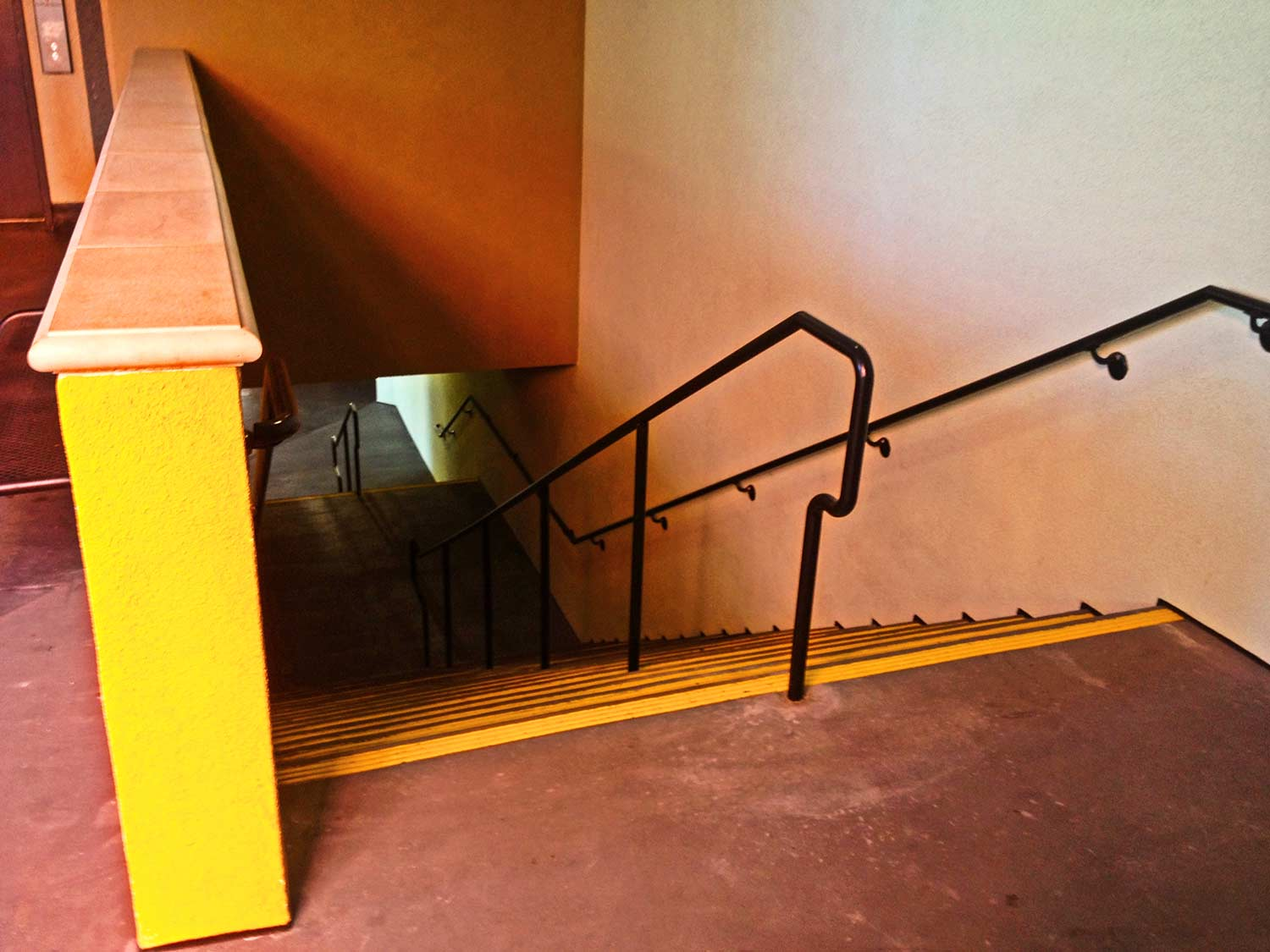 Stairs at Horton Plaza