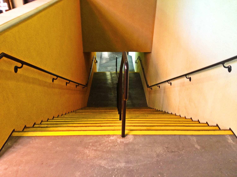 Stairs at Horton Plaza