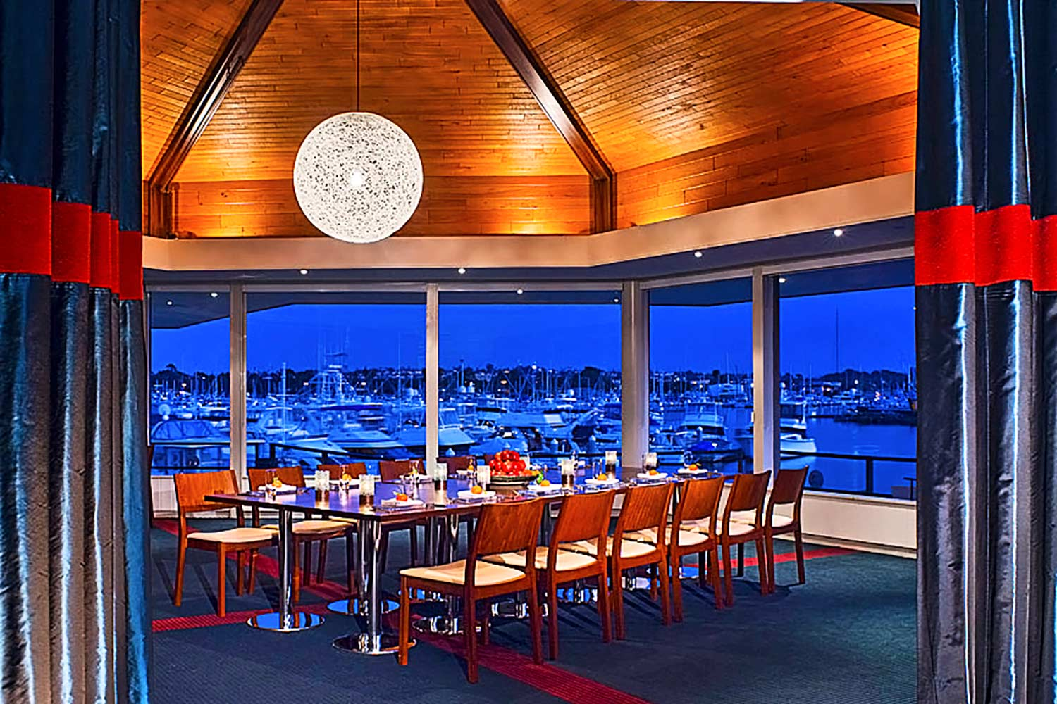 Private dining room at Hyatt Regency Mission Bay
