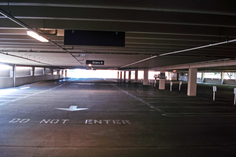 La Jolla Gateway parking lot