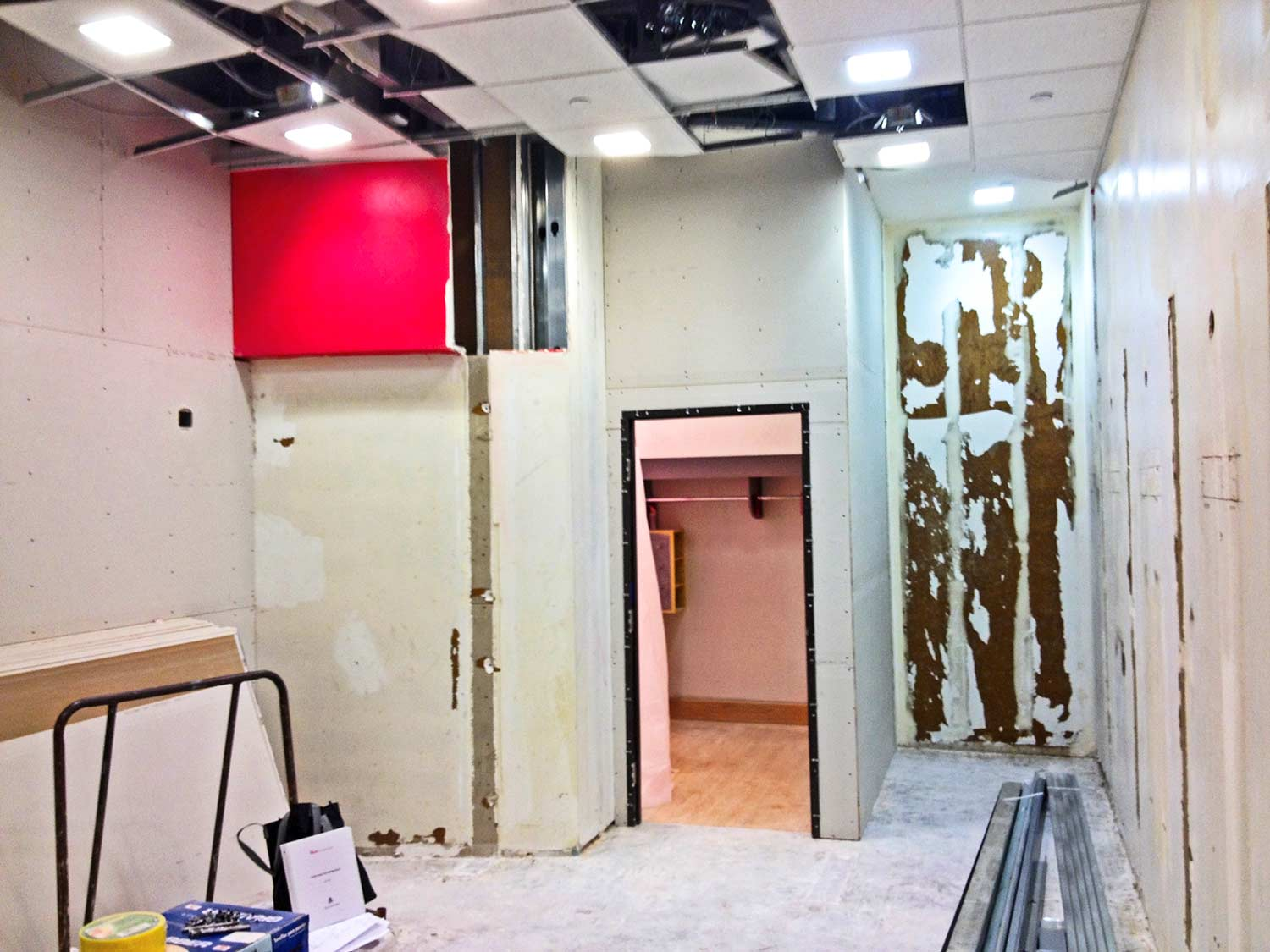 Construction of Charlotte Russe