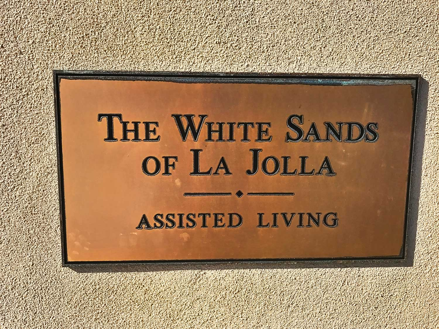 Sign at White Sands