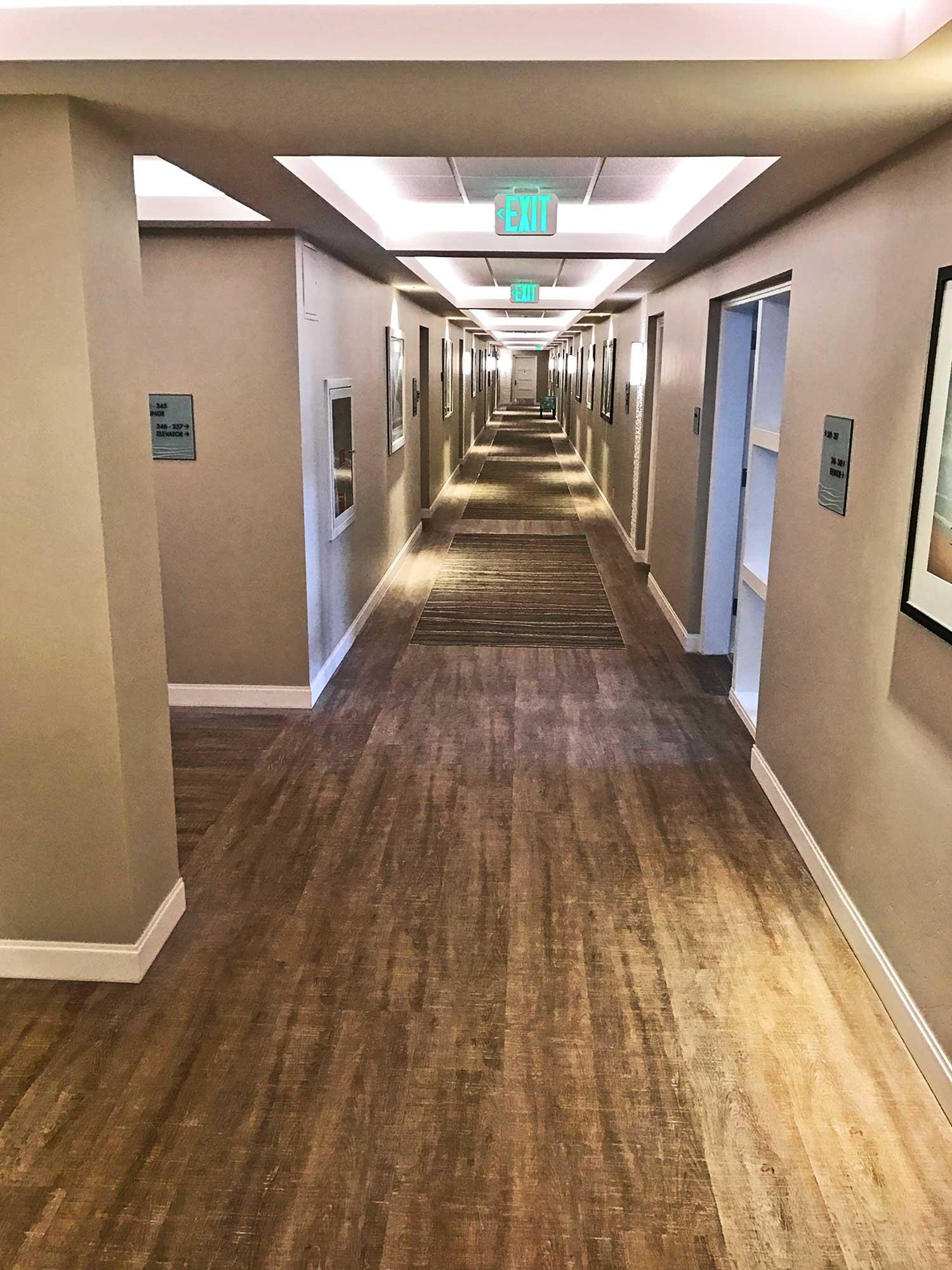Hallway in White Sands