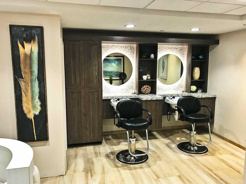 Beauty salon at White Sands