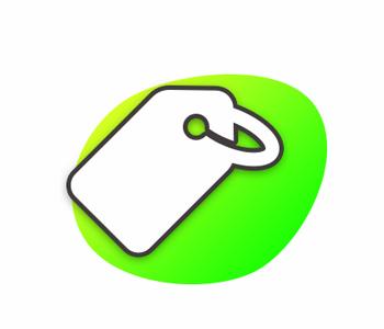 icône print et objets publicitaires