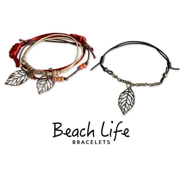 Autumn Bracelets - 4 Piece Set