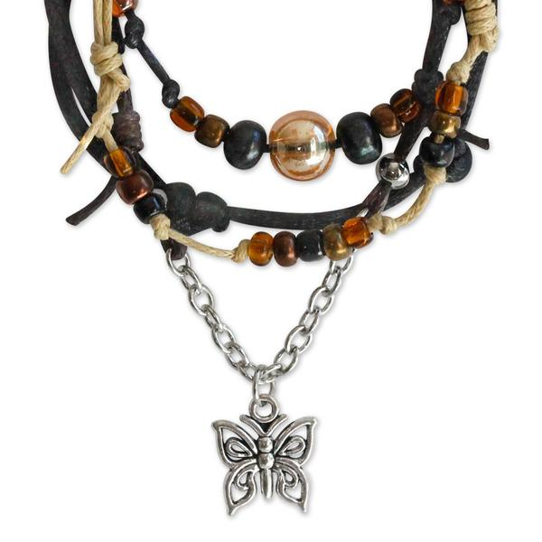 Butterfly Bracelets - 4 Piece Set