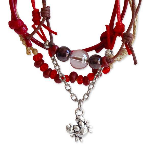 Crab Bracelets - 4 Piece Set