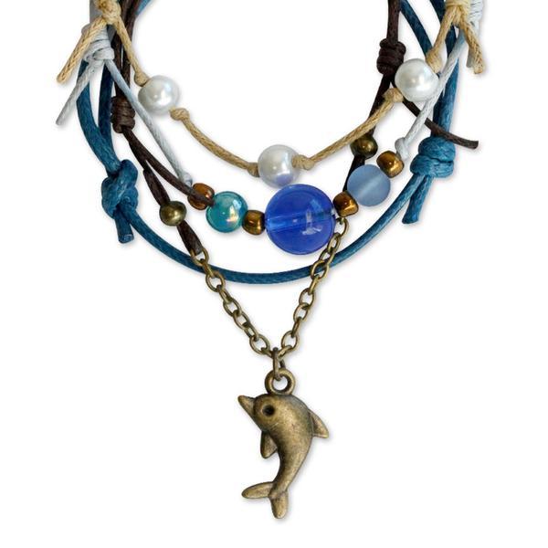 Dolphin Bracelets - 4 Piece Set