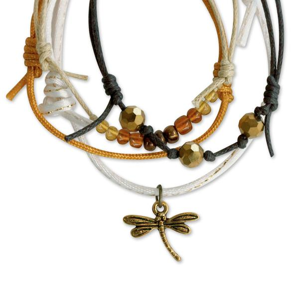 Dragonfly Bracelets - 4 Piece Set