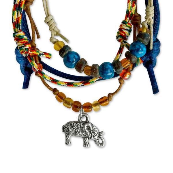 Elephant Bracelets - 4 Piece Set