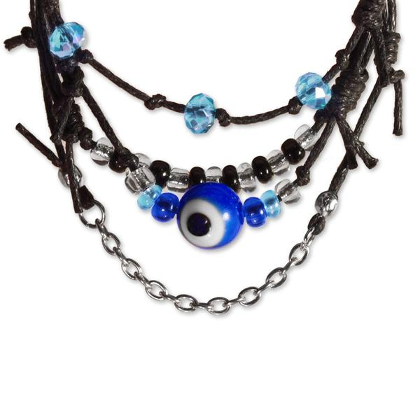 Evil Eye Bracelets - 4 Piece Set