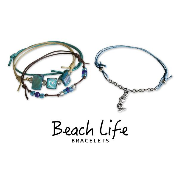 Mermaid Bracelets - 4 Piece Set