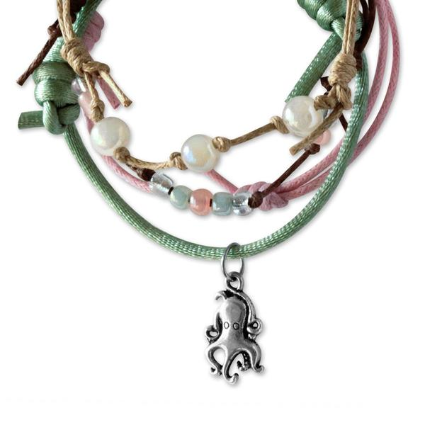 Octopus Bracelets - 4 Piece Set