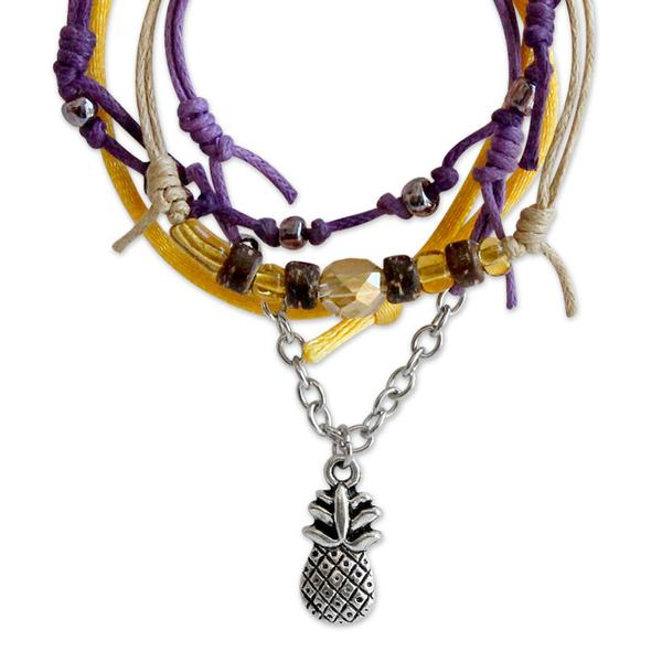 Pineapple Bracelets - 4 Piece Set