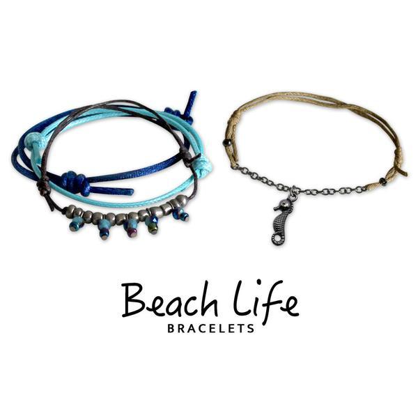 Seahorse Bracelets - 4 Piece Set