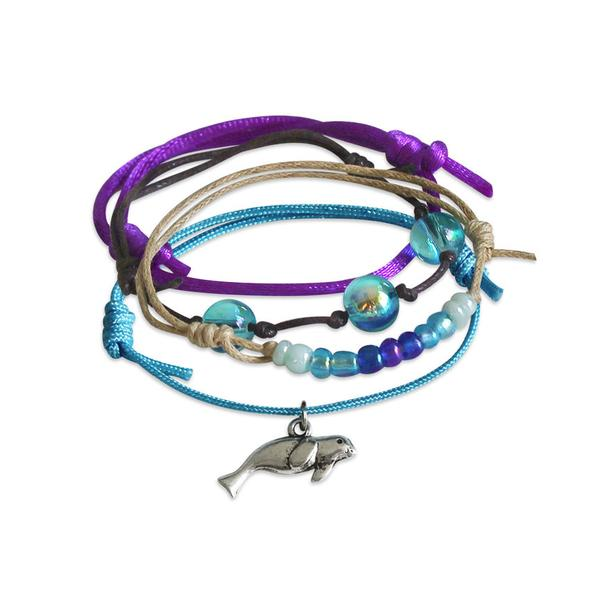Seal Bracelets - 4 Piece Set