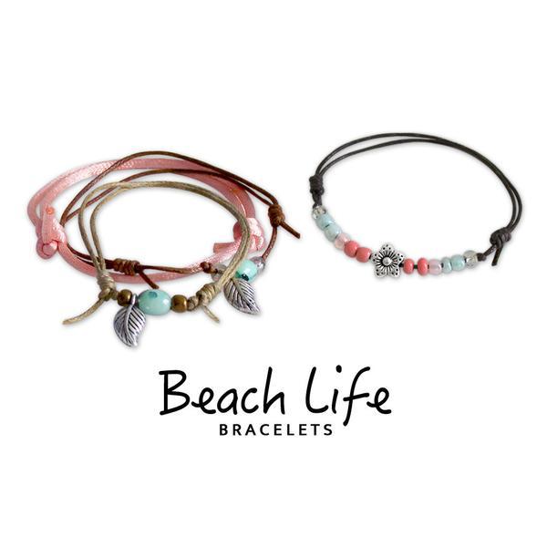 Spring Bracelets - 4 Piece Set