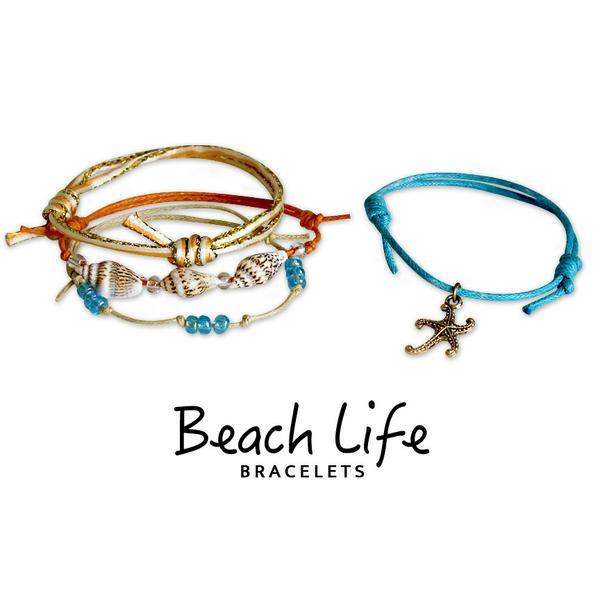Starfish Bracelets - 4 Piece Set
