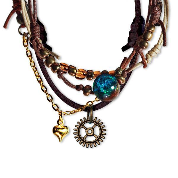 Steampunk Bracelets - 4 Piece Set