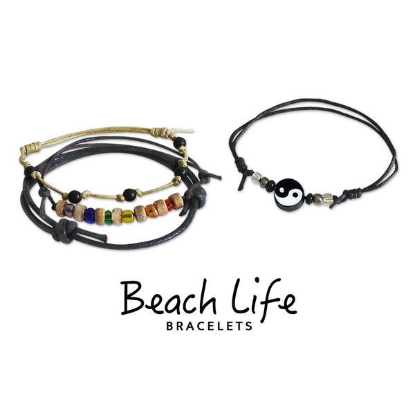 Yin Yang Bracelets - 4 Piece Set